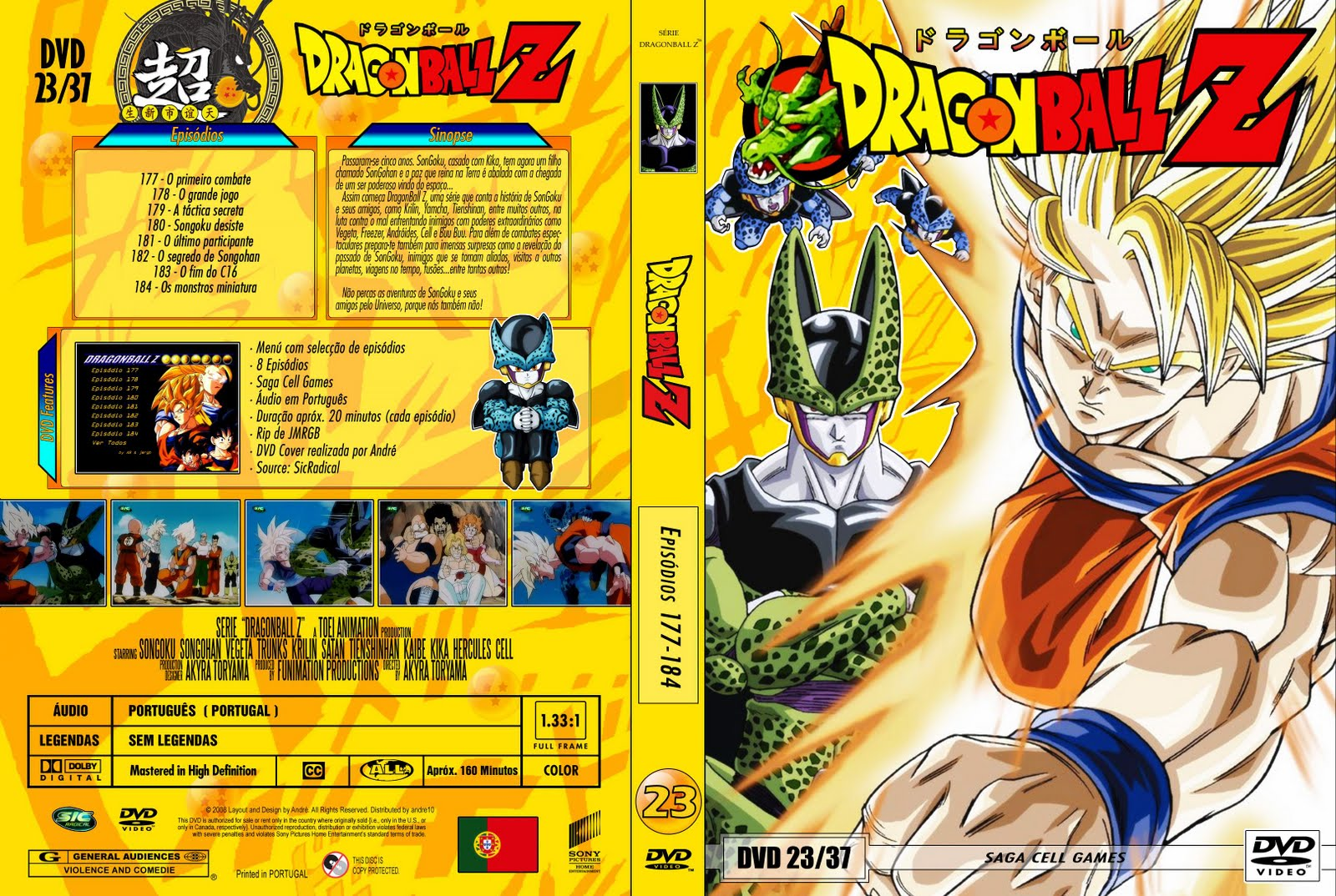 Dragon Ball Z Temporadas Completas dragonballz vol 23