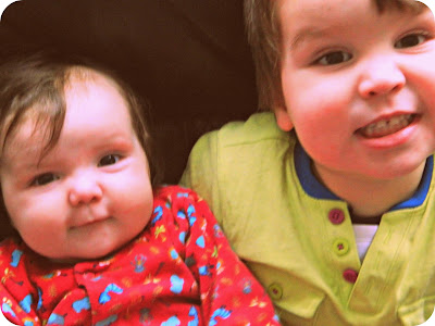 Brother Sister Toddler baby boy girl