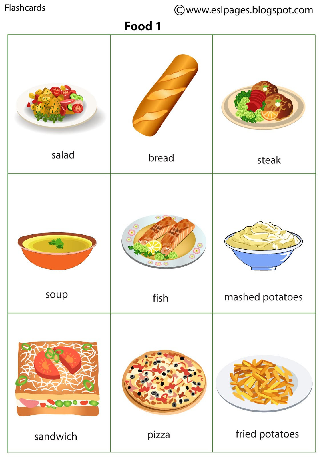Esl pages food forumfinder Image collections