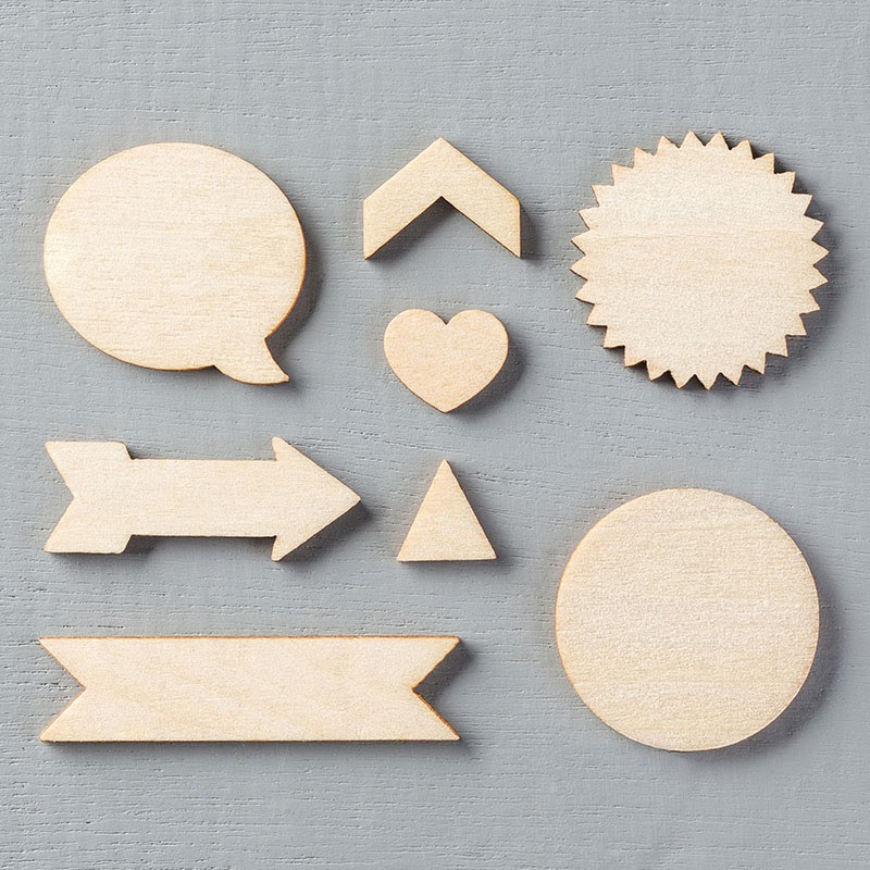 Essentials Wooden Elements Stampin Up Spring Occasions 2014
