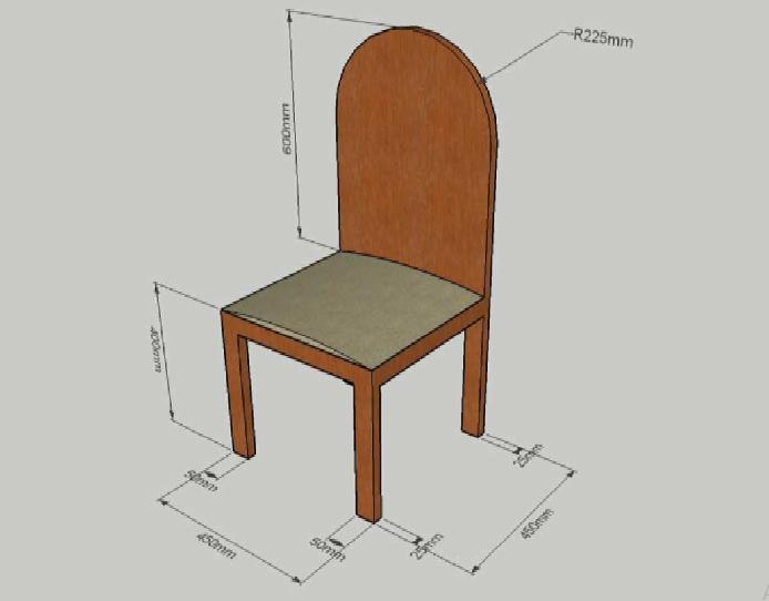 No hay qu mica con la f sica 4 eso dibujo de una silla for Silla para dibujar