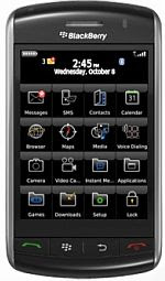 Spesifikasi BlackBerry Storm 9500