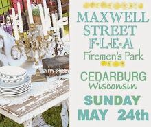 THIS SUNDAY, MAY 24th MAXWELL STREET FLEA - CEDARBURG, WISCONSIN