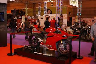 La Ducati Panigale S es una de las motos más bonitas de la historia. La vimos muy de cerca.