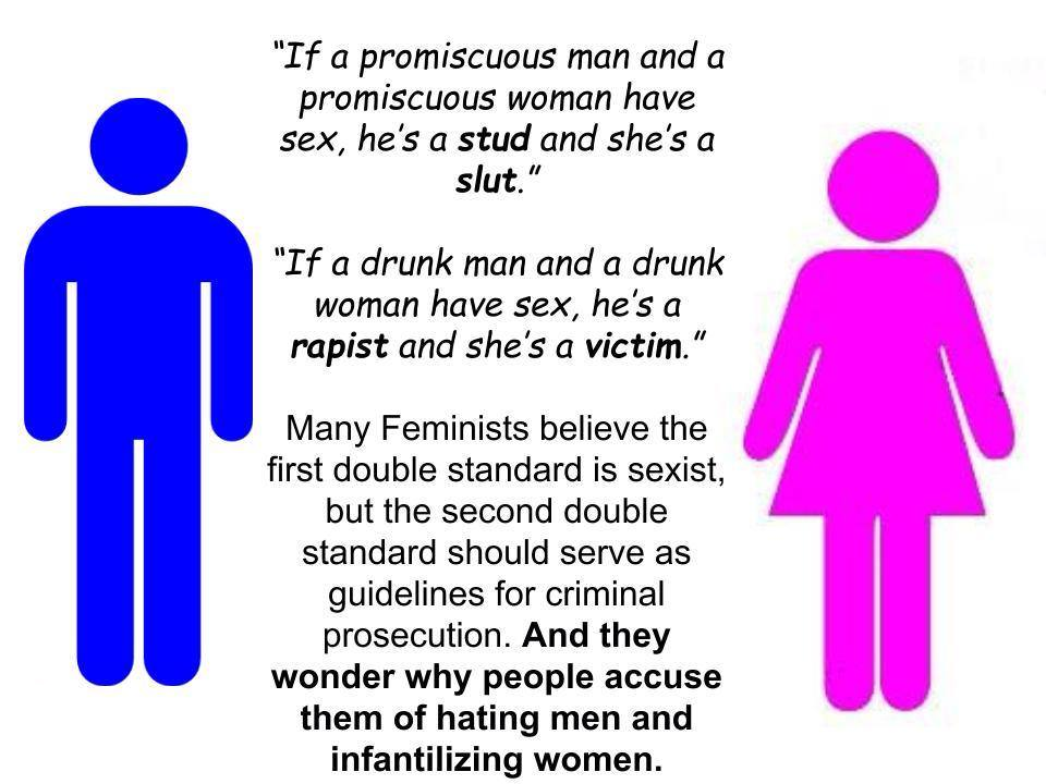 the double standards of society on gender issues