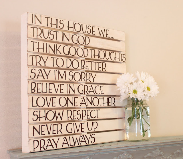 Love Of Family & Home: DIY Pallet Wall Art...