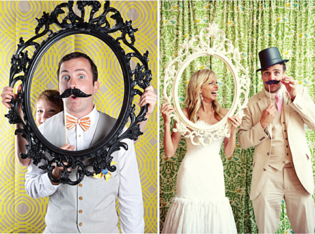 as props at the photo booth pic1 photo2 pic 3 pic no4