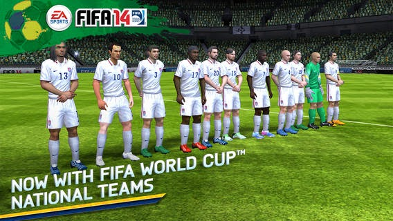 [Game iOS] Download FIFA 14 update World Cup 2014