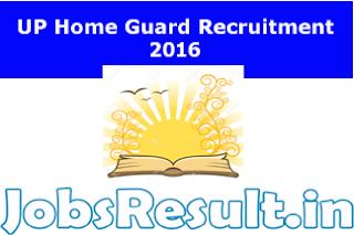 UP Home Guard Recruitment 2016