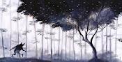El bosque representado