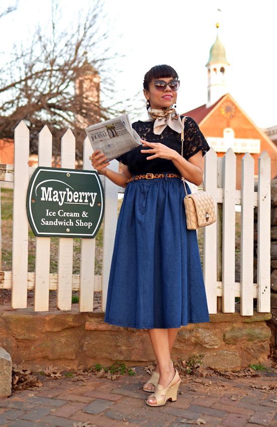 1950s style outfit
