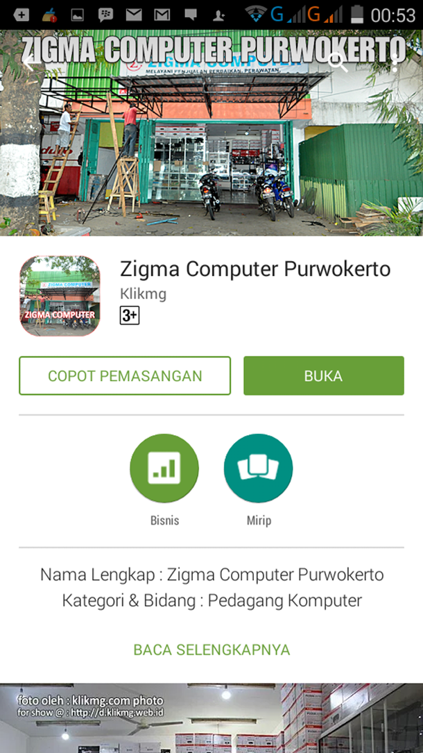 Zigma Computer Purwokerto siap diakses dari Google Playstore - https://goo.gl/w8VfH1