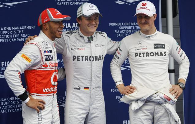 Hasil Kualifikasi F1 GP China Hasil+F1+GP+China