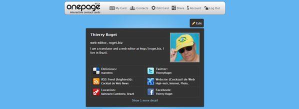 thierry roget sur myonepage