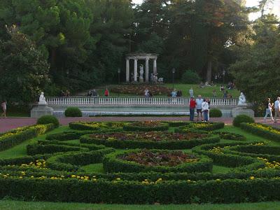 Joan Maragall gardens in Montjuïc