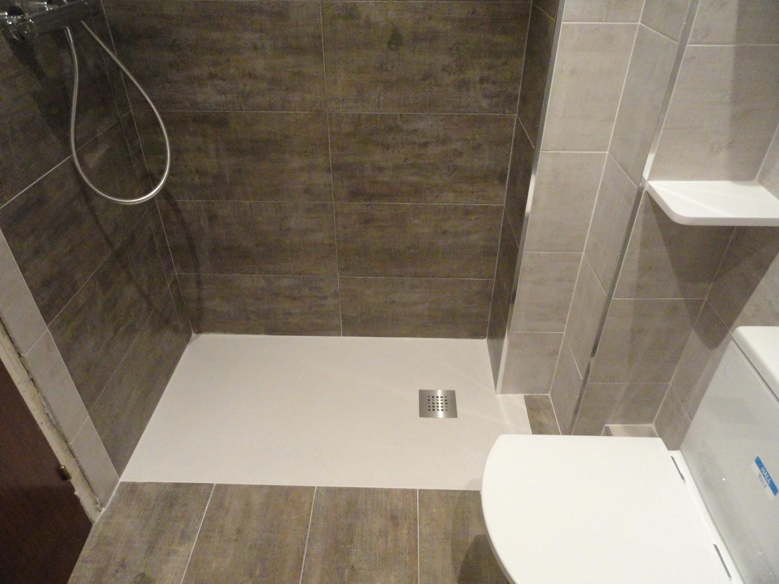 Reformas plato ducha a nivel de suelo for Ducha sin plato suelo