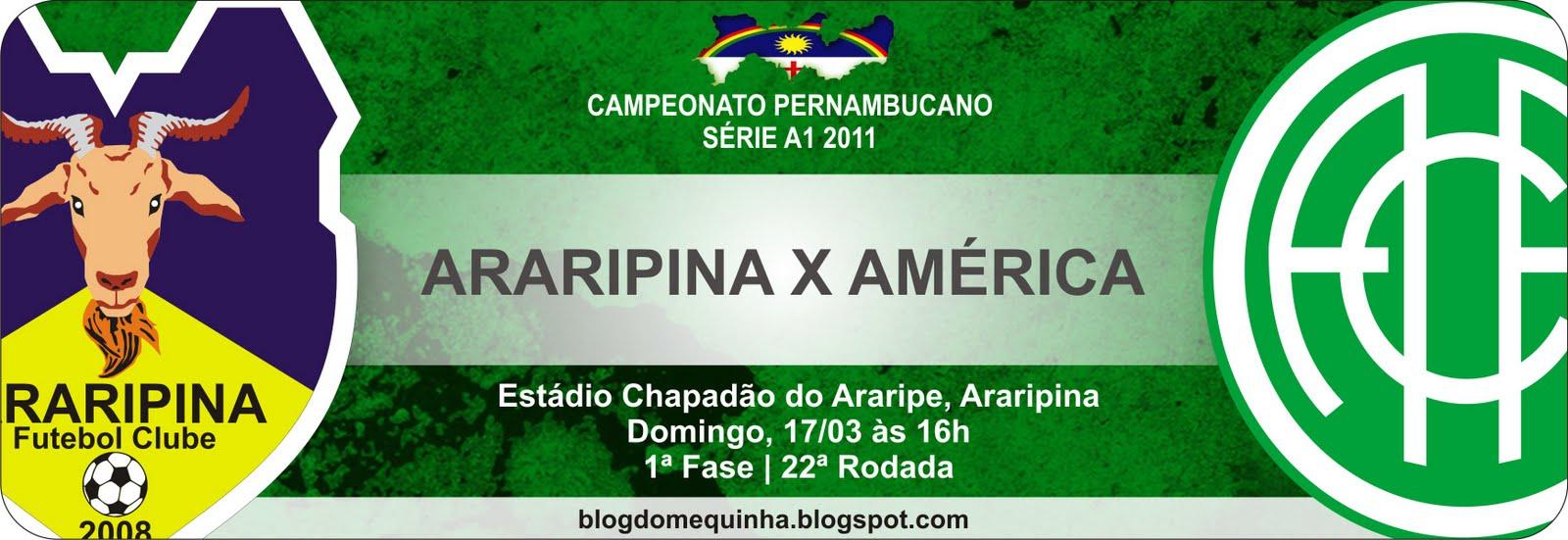 Araripina x América - FINAL