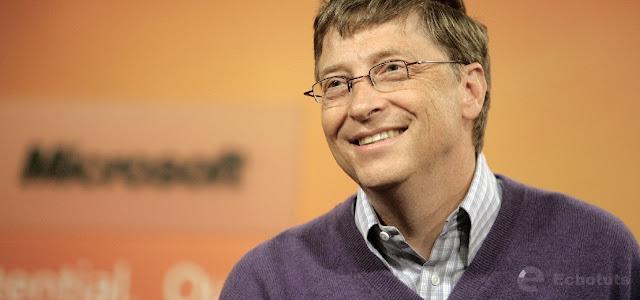 Bill gates Microsoft - Contoh Achieved Status - Status Peranan Individu Dalam Interaksi Sosial - echotuts