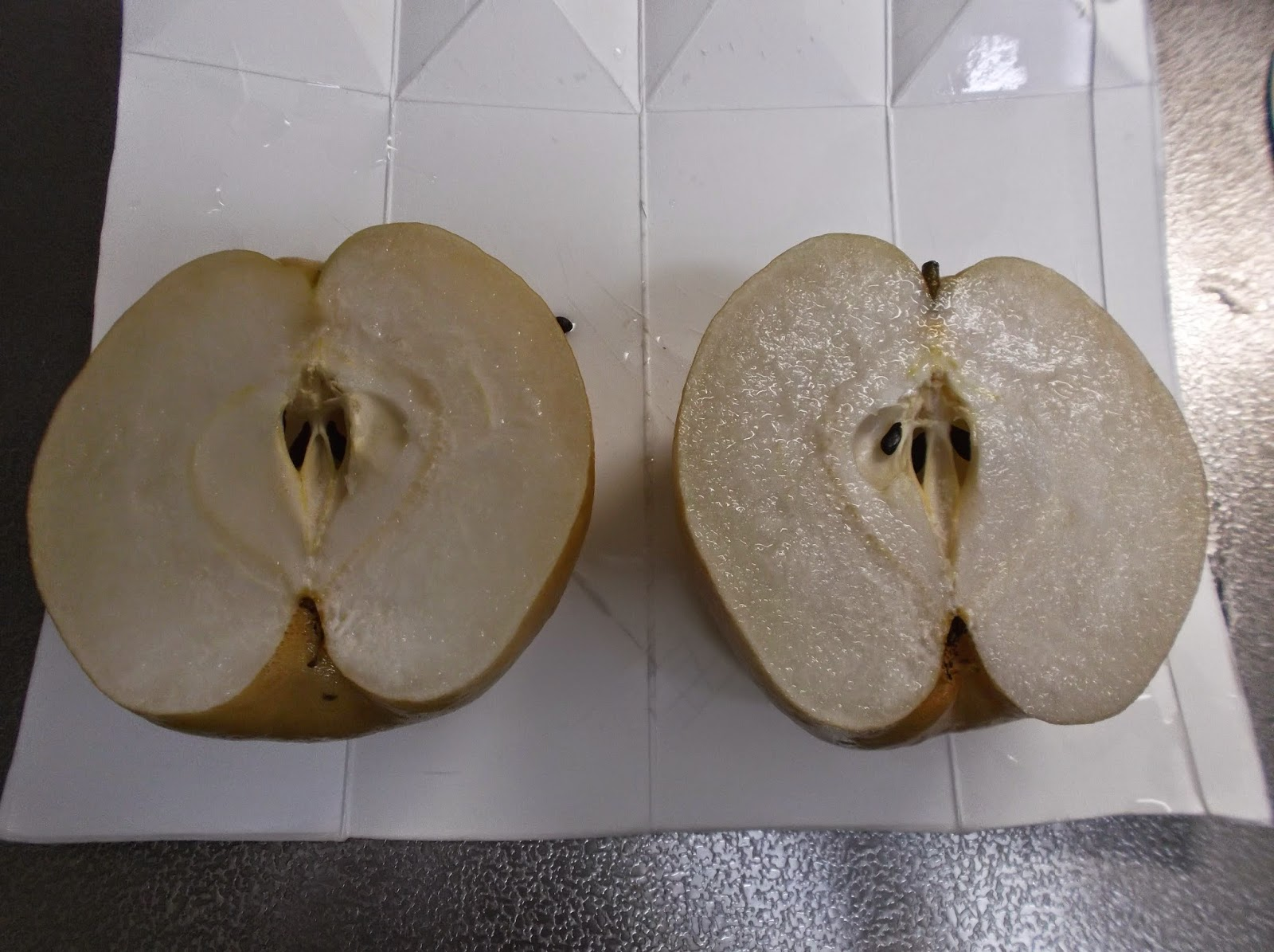 how to tell if a nashi pear is ripe