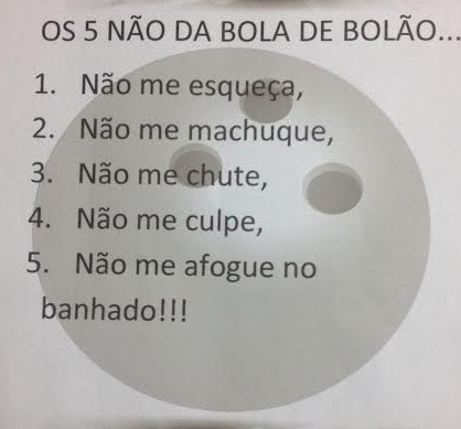 BOLA DE BOLÃO