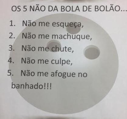 BOLA DE BOLÃO