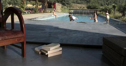 Cemento pulido en las zonas exteriores y piscinas - Cemento pulido para exterior ...
