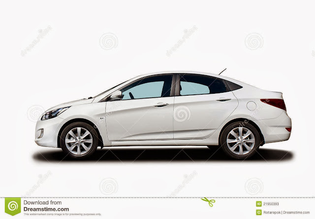 Car White Background