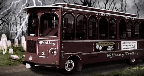 Albany Haunted Trolley Tours