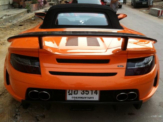 Toyota MR2, ZZW30, MR-S, tuning, modyfikacje, bodykit, zdjęcia, Luxury Part, LP, Thailand, Tajlandia