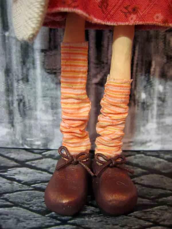 кукла из самоотвердевающего пластика дарви-рок