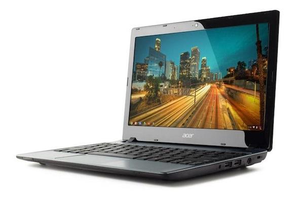 Acer C7 Chromebook tersedia di toko online dengan harga $199