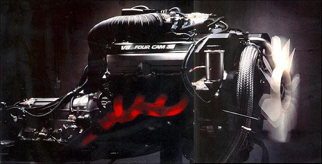 1UZ-FE, silnik V8