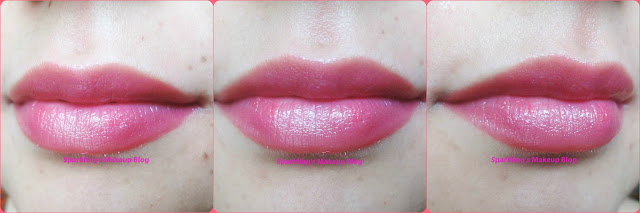 lip butter sorbet swatches, swatch of sorbet