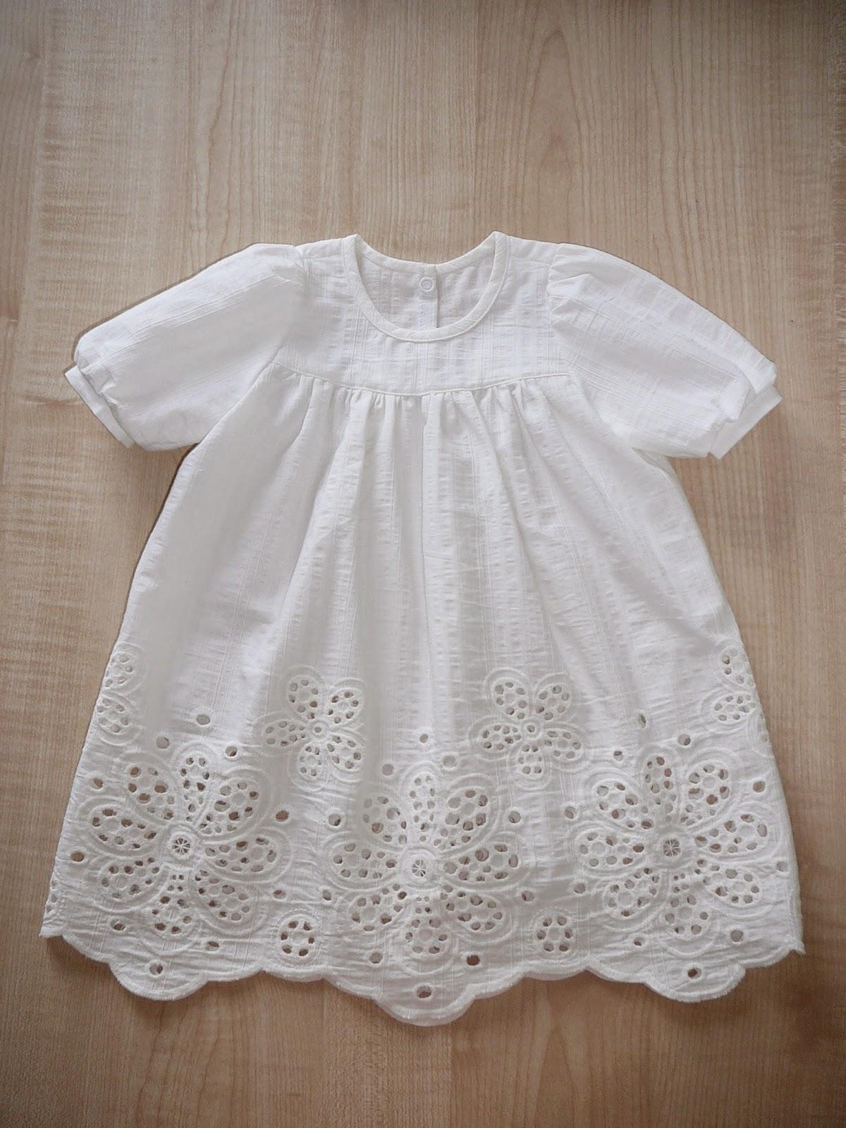 Нарядное крестильное платье для девочки своими руками 55
