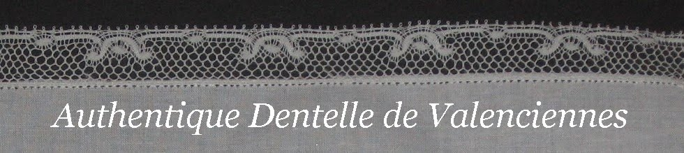 Authentique Dentelle de Valenciennes