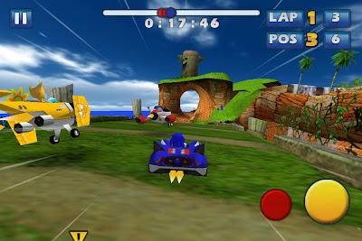 sonic-all-stars-iphone-1 Sonic & Sega All-Stars Racing, amanhã na App Store