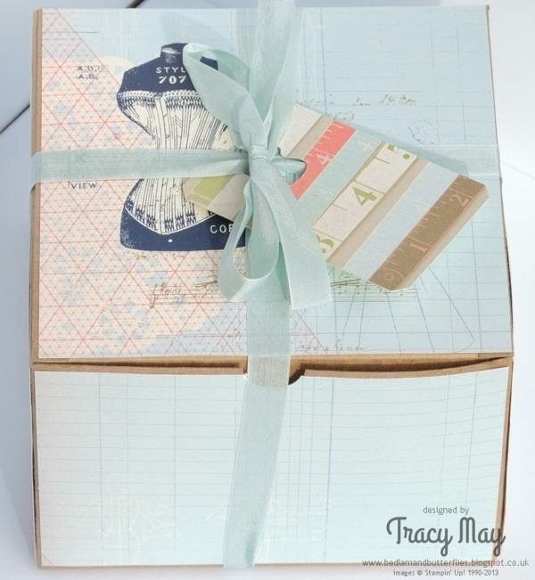 Stampin Up Designer series paper DSP gift ideas Tracy May demonstrator