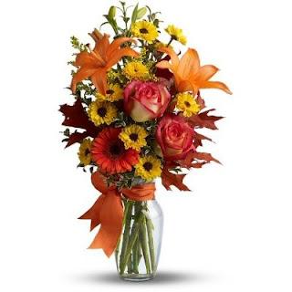 Send the Burst of Autumn Bouquet