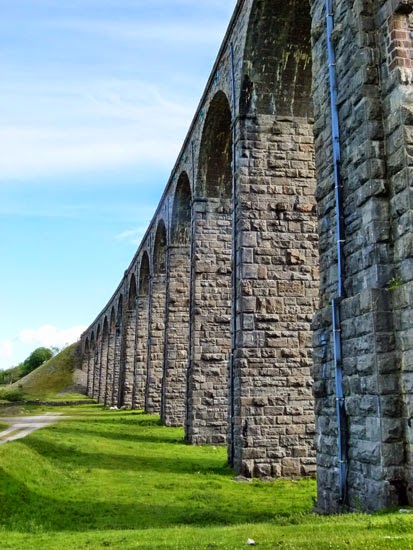 Ribblehead Viaduct, Victorian engineering, North Yorkshire