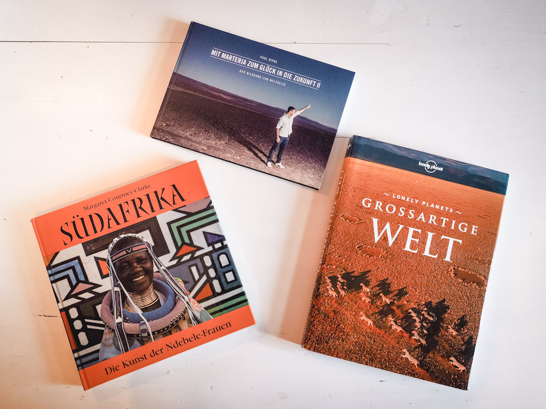Drei Fotobücher