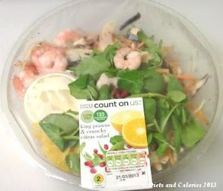 M&S Count on Us King Prawn Citrus Salad