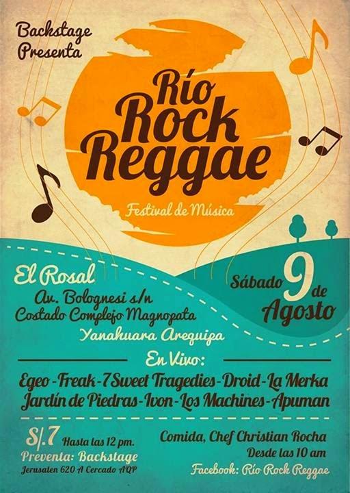 Festival de Música, Río Rock Reggae - 09 de agosto