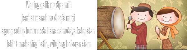 Kata UCapan Lebaran | Bahasa Sunda | Kata Sunda