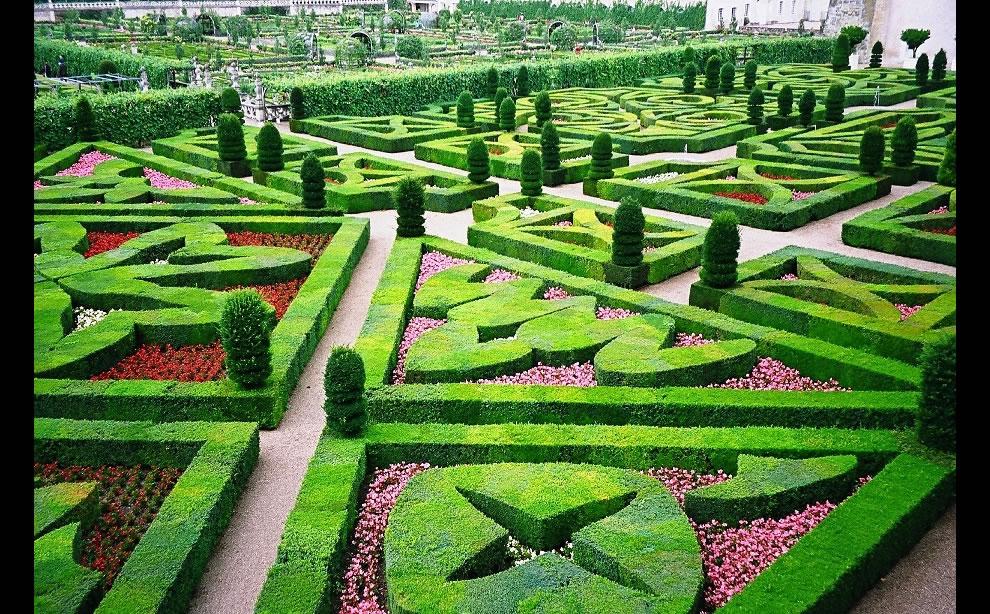 Jardin de l 39 amour au ch teau de villandry la plupart des for Jardins romantiques francais