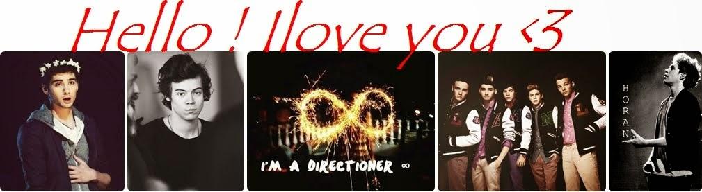 HELLO ! I LOVE YOU ♥