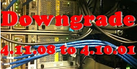 Downgrade 4.11.08 to 4.10.01 Baseband