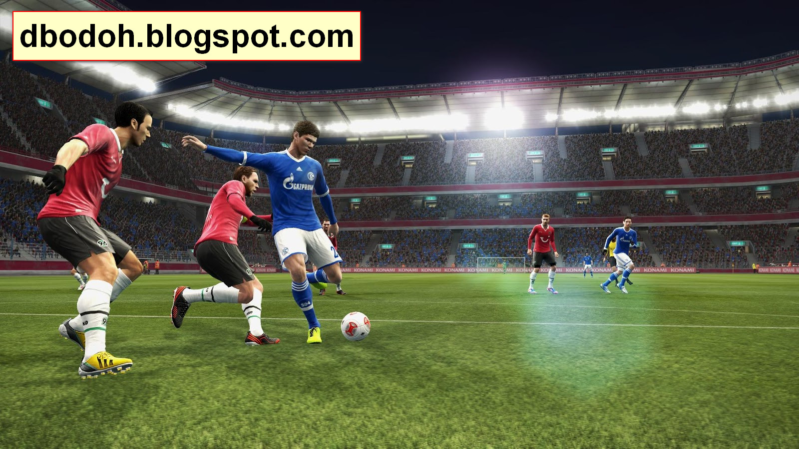Free Download Patch 2.8 (FIX) PES 2013 Terbaru