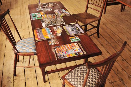 Dehli Days table mats and coasters by Ella Doran