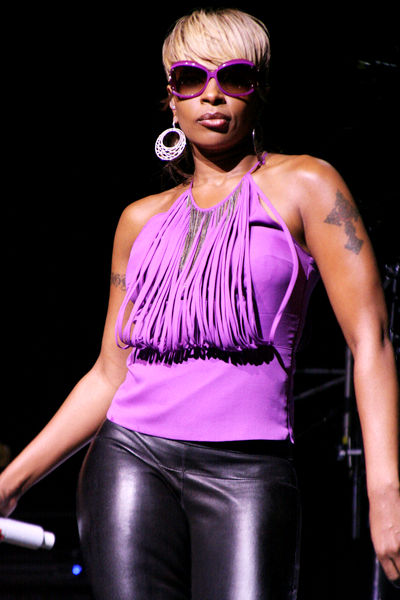mary j blige songs. artist Mary J. Blige wrote
