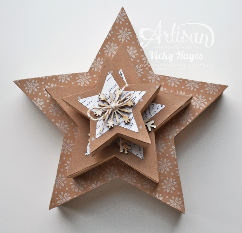 Many Merry Stars boxes are perfect for wrapping treats or small gifts